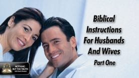 Biblical Instructions For Husbands And Wives – Part 1
