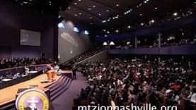 Alexis Spight ministering at Mt. Zion Church Nashville Stellar week 2014