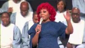 "Alexis Spight sings ""Prayer Can Do"" at Windsor Village U.M.C."