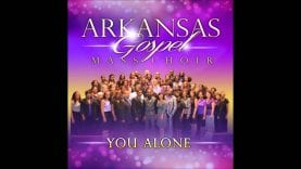 "ARKANSAS GOSPEL MASS CHOIR ministering their new single  ""YOU ALONE"""