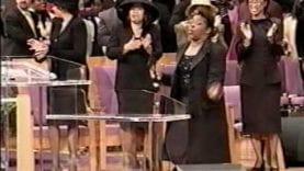 Beverly Crawford (quick praise break)