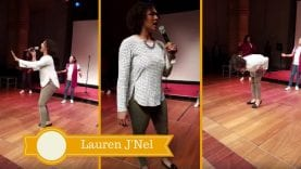 """Briana Babineaux Brings Down The House With """"He's Able"""" 