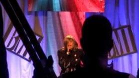 Dorinda Clark Cole Pays Tribute to Bishop Hezekiah Walker at BMI Trailblazers of Gospel