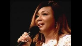 Gospel Superstar Erica Campbell Ministering In Songs At Temple of Deliverance COGIC 2018!