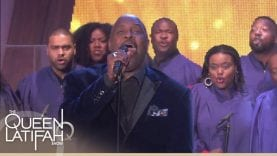 """The 3 Winans Brothers Perform """"Trust In God""""   The Queen Latifah Show"""