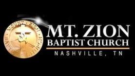 Zacardi Cortez Ministers at Mt. Zion Nashville