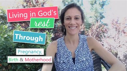 Living-in-Gods-Rest-through-Pregnancy-Birth-Motherhood-attachment